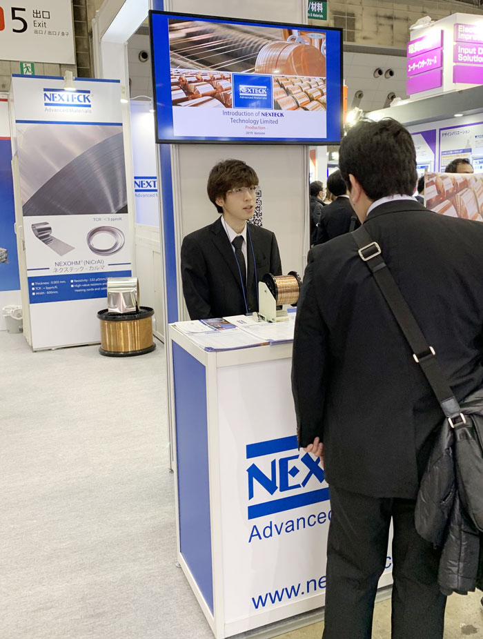 Automotive World 2019 is in Full Swing, NEXTECK Team are Engaging in Customer Reception at E45-22